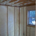 Spray Foam Insulation in Home