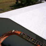 White Roof of Warehouse