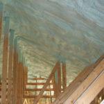 spray foam insulation in ceiling