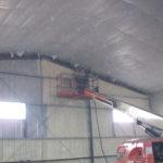 Warehouse Spray Foam Insulation